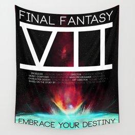 Final Fantasy VII - Destiny Wall Tapestry
