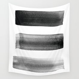 Three Brushes Wall Tapestry