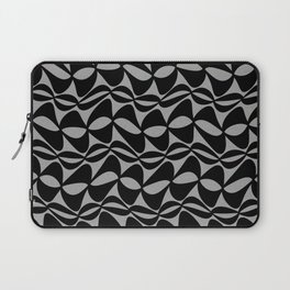 Black Wobble Laptop Sleeve