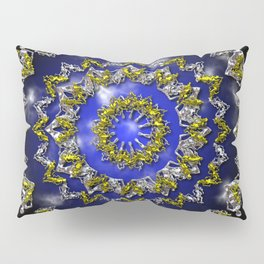 The Origin Gold and Silver With Plasma Pillow Sham