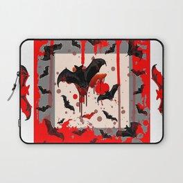 FREAKING HALLOWEEN BLOODY BAT PARTY Laptop Sleeve