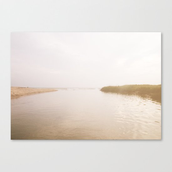 Coastal Opposites Canvas Print
