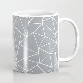 Abstraction Outline Grey Coffee Mug