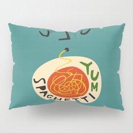 Yum Spaghetti Pillow Sham
