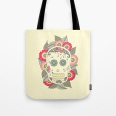 ColoredSkull Tote Bag