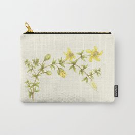 Creosote Flower Illustration Carry-All Pouch