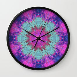 MANDALA NO. 9 #society6 Wall Clock