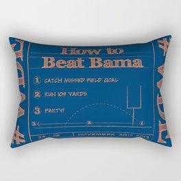 How to beat Bama Rectangular Pillow