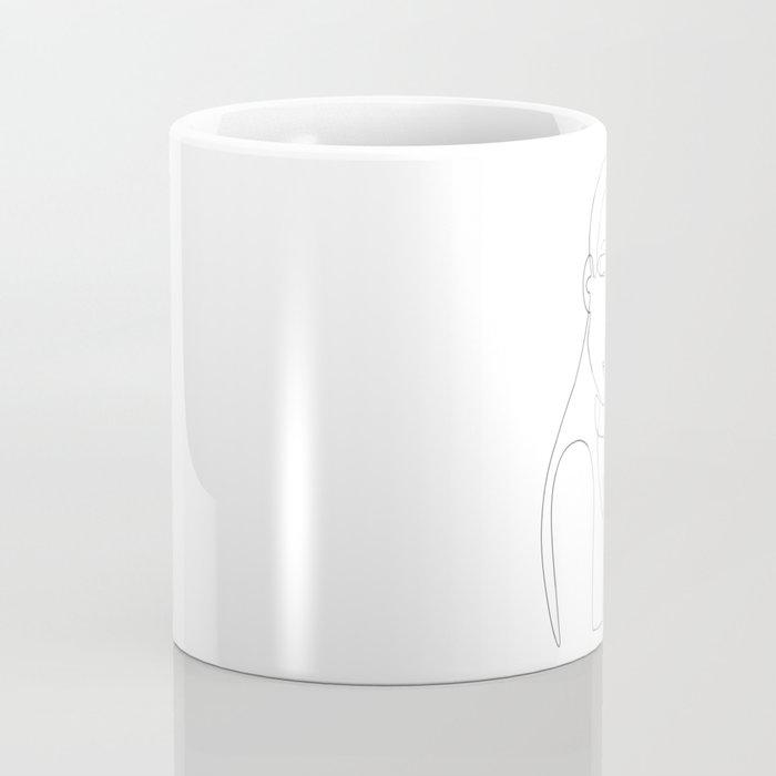 Shy Portrait Coffee Mug
