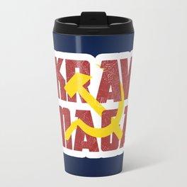 Krav Maga Russia Soviet Union Travel Mug