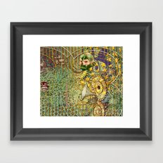 Grinding Out The Mean Layer (2) Framed Art Print