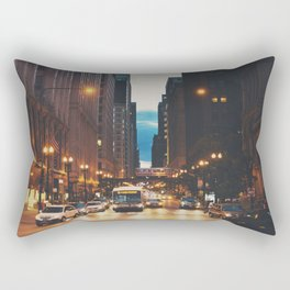 the streets of Chicago ... Rectangular Pillow