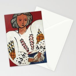 Henri Matisse - The Romanian Blouse - Exhibition Poster Stationery Cards