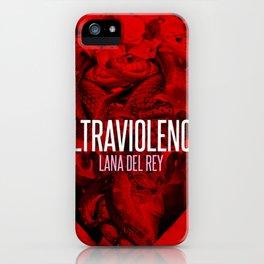 Ultraviolence iPhone Case