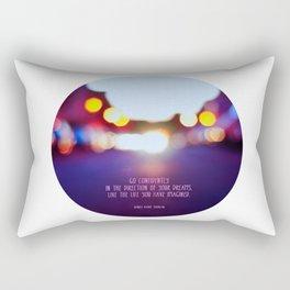 Live your dreams Rectangular Pillow