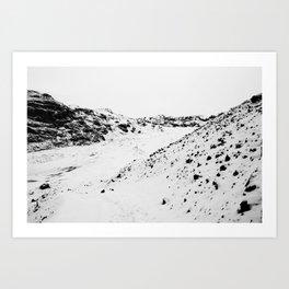 Black White World Art Print