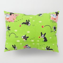 Mirabelle goes to the park a happy dog adventure Pillow Sham