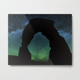 Arches by Night Metal Print