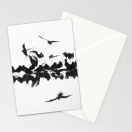 Long-billed Dowitchers Stationery Cards