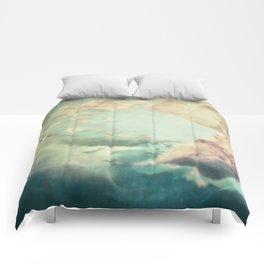 Stormy sky Comforters