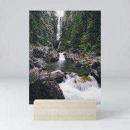 Colorado Hidden Waterfall Mini Art Print