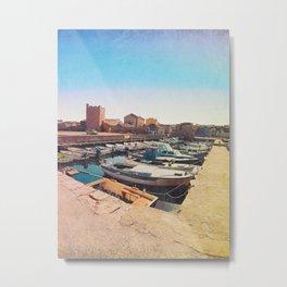 Old Town's Seaport Metal Print