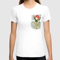 tina fey T-shirts featuring Tina&Ape by eva vasari