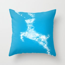 In Search Of Peace Throw Pillow