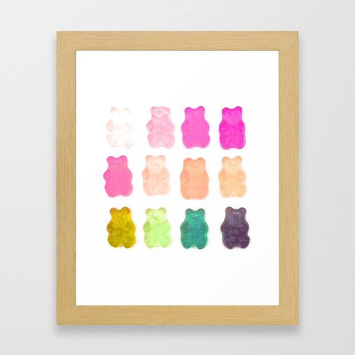 Compulsive Candy  Gerahmter Kunstdruck