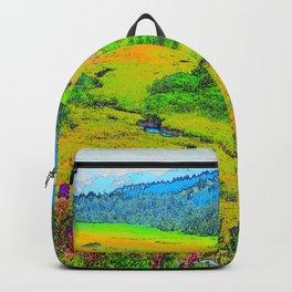 Alaska's Kenai Peninsula - Watercolor Backpack