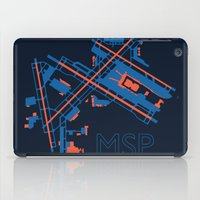 60s iPad Cases featuring Minneapolis-St.Paul (MSP) - 60s by Kyle Rodgers