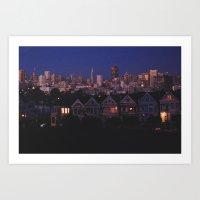 San Fran Sisters Art Print