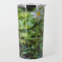 Forest Flowers, Pacific Northwest, Washington State Travel Mug