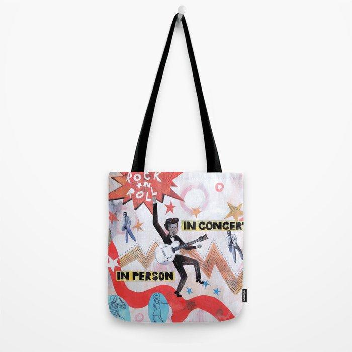 Rock & Roll! Tote Bag