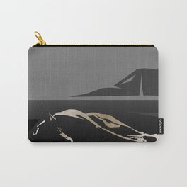 Silhouette of a Dog Carry-All Pouch