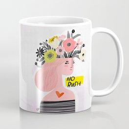 Crabby Dog: No Rush Coffee Mug