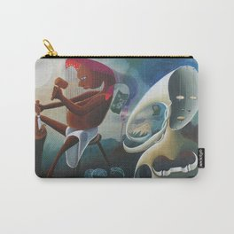 Self-Made Man and Empty-Headed Woman (1994) Carry-All Pouch