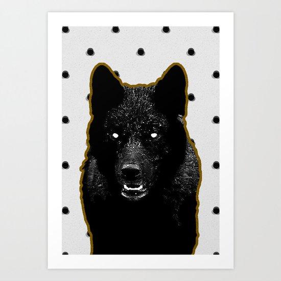 Just Wolf. Art Print