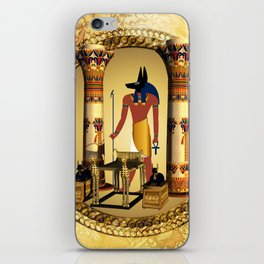 Anubis iPhone Skin