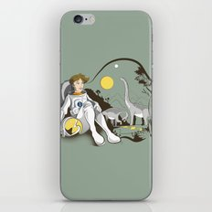 The Time Traveler iPhone & iPod Skin
