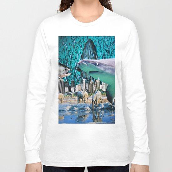 Liquid Sky Long Sleeve T-shirt