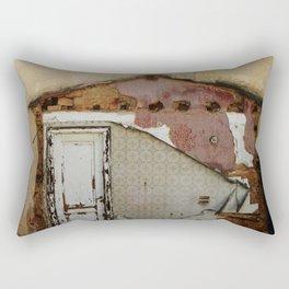 Unidimensional house Rectangular Pillow