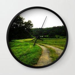 Winding Road Wall Clock