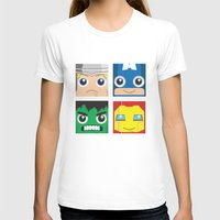 superheros T-shirts featuring Earth Defenders by Jconner
