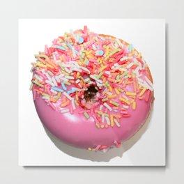 Craving Krispy Cremes Pink Metal Print