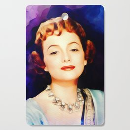 Olivia de Haviland, Vintage Actress Cutting Board