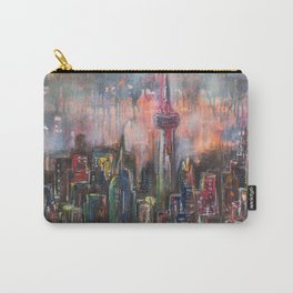 Toronto At Night Carry-All Pouch