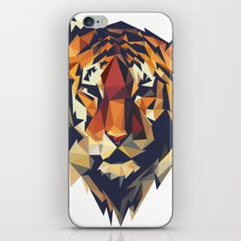 HEAD TIGER LOWPOLY STYLE iPhone Skin