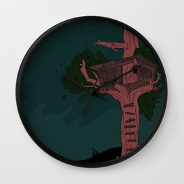 enhanced nebulas Wall Clock