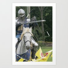 Lance Raised Avenged Art Print